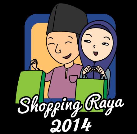 Projek Iqra' : Sukarelawan Shopping Raya Bersama Anak-Anak Yatim 2014