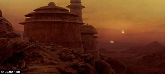 Jabba's Palace in Star Wars