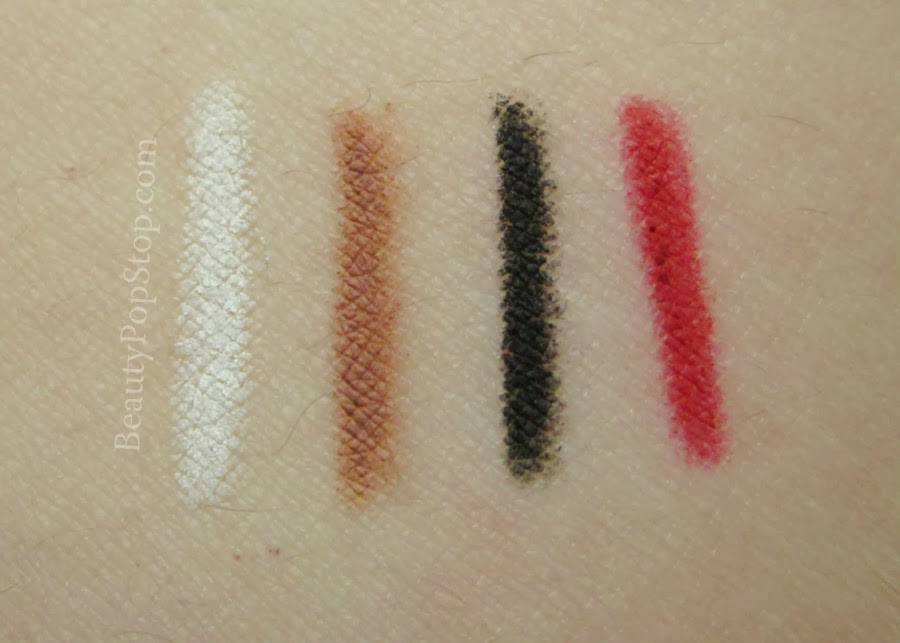 obsessive compulsive cosmetics cosmetic colour pencil swatches