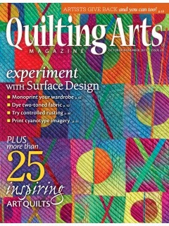 Quilting Arts Oct/Nov 2013