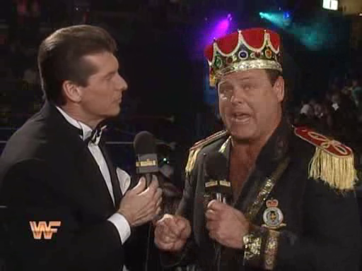 WWF / WWE: Royal Rumble 1995 - Vince McMahon and Jerry Lawler were our commentary team