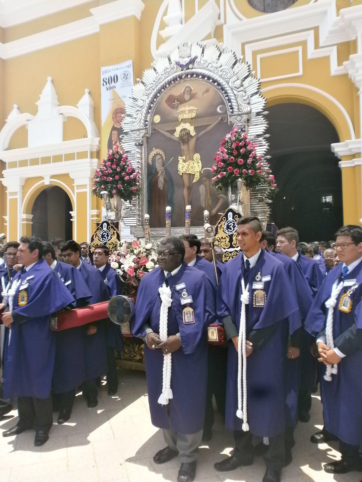 PROCESION DEL SEÑOR DE LOS MILAGROS DE TRUJILLO