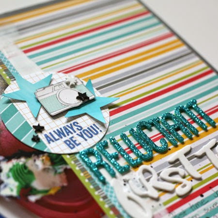 scrapbooking: using paint