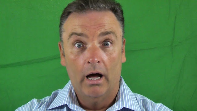 Kawartha Lakes Politics - Green Background Shocked Expression