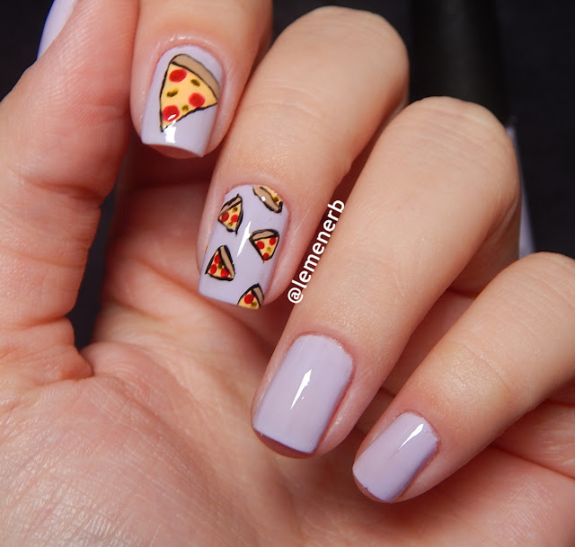 nail art pizza