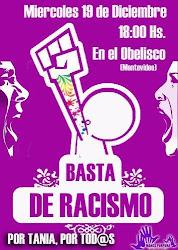 Por Tania y Contra el RACISMO