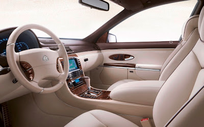 maybach guard interior