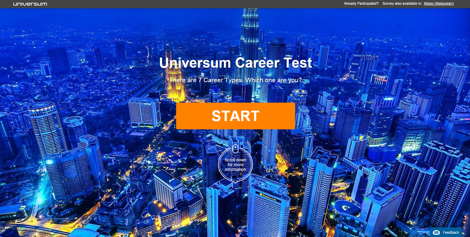 Universum Career Test