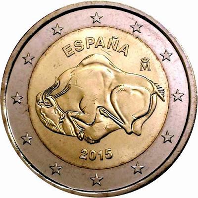 Moneda de 2 Euros conmemorativa 2015
