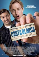 Cartel de la película Carta blanca protagonizada por Owen Wilson y Jason Sudeiks
