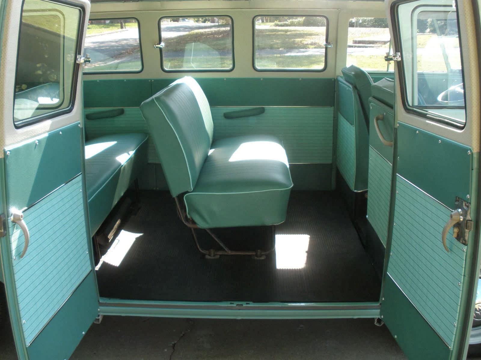 Volkswagen Standard Bus Middle Seat on Vw Engine Wiring
