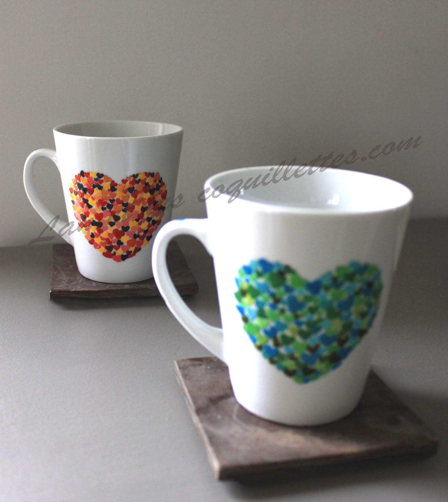 Lan et les coquillettes janvier 2013 - Peinture pour vaisselle ...