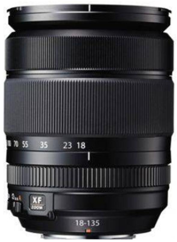 Fujifilm Fujinon XF18-135mm f/3.5-5.6 R LM OIS WR - Hitam