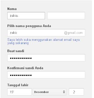 membuat email google