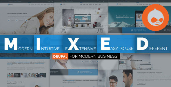 download Mixed - Modern Drupal Theme