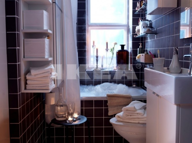 tabouret salle de bains ikea cette zone de lavage devient un espace - Ikea Tabouret Salle De Bain
