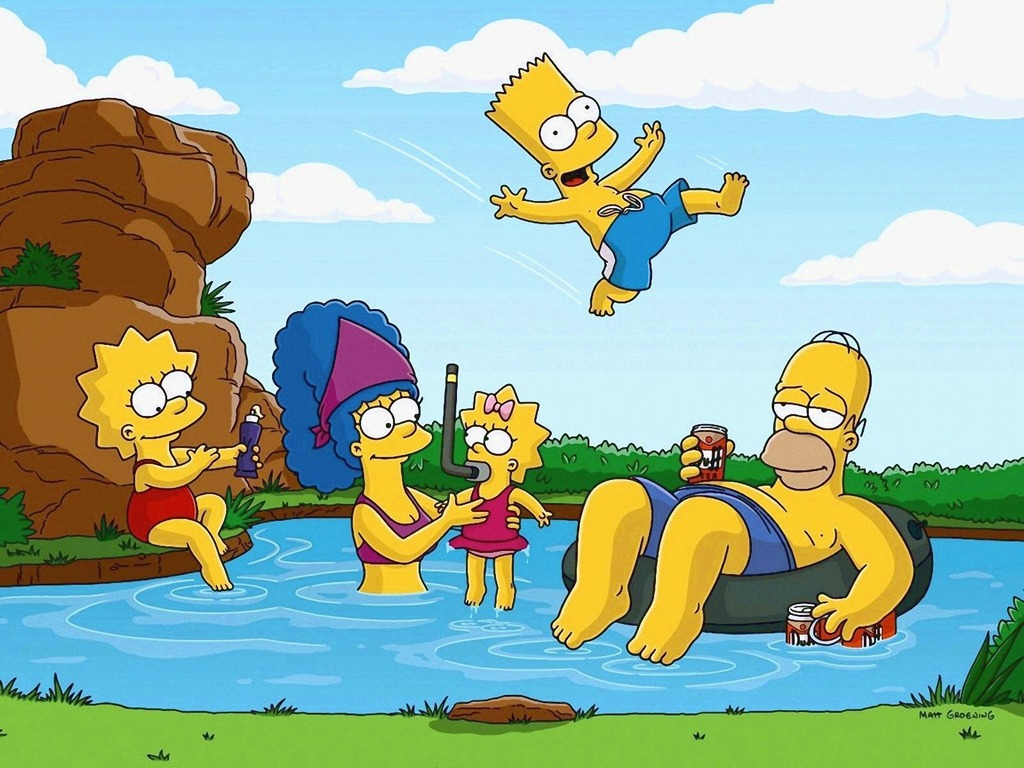 Tags anime the simpsons wallpaper