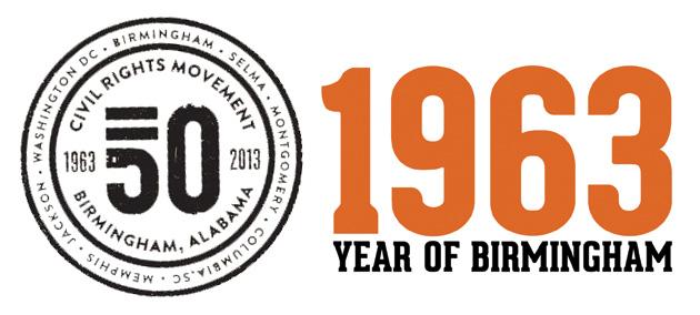 Birmingjam 1963 logo