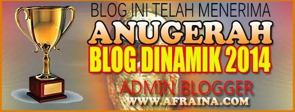 Anugerah Blog Dinamik 2014