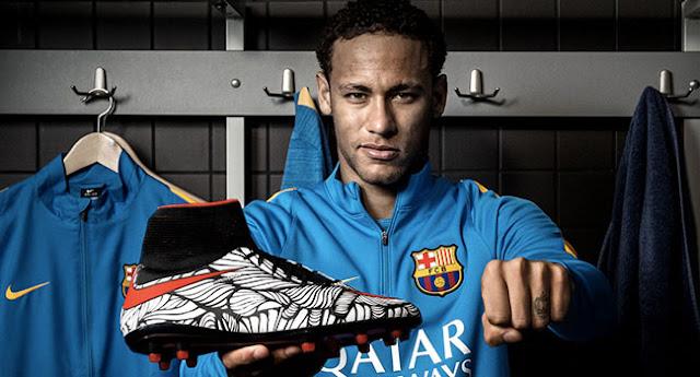 Nike Football présente l'Hypervenom II de Neymar Jr dont le design a été confié à l'artiste Brésilien Bruno Big.