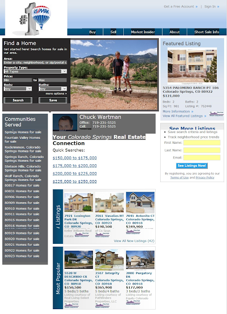 Colorado Springs Search for Homes
