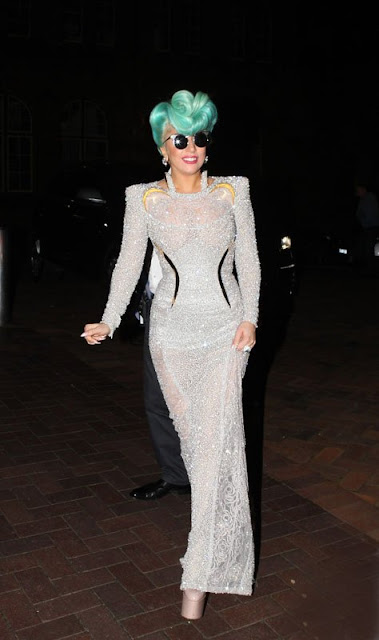 Lady Gaga on June 17