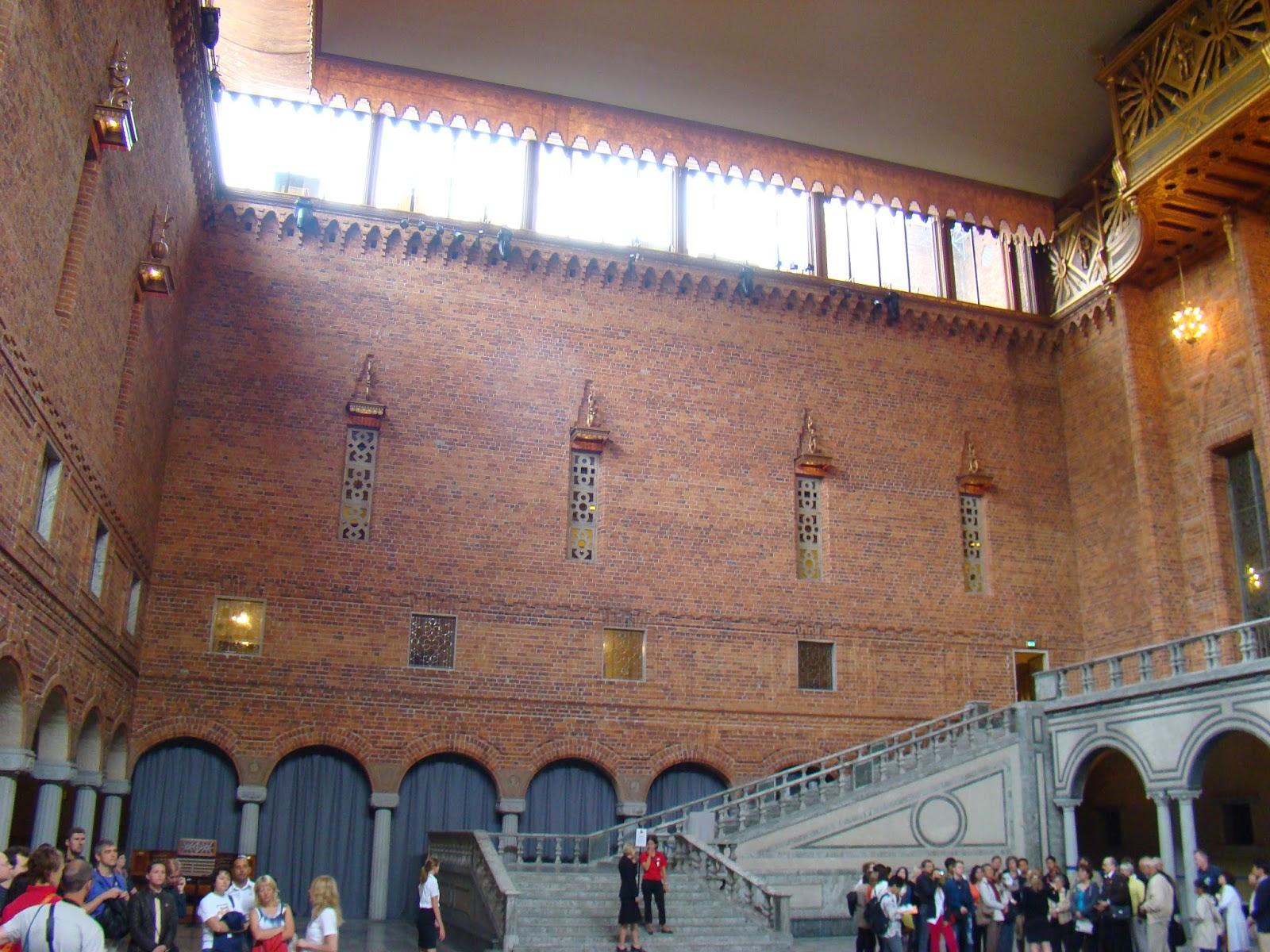 Salón azul, Ayuntamiento de Estocolmo