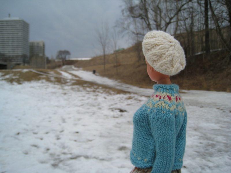 Knitting Pattern Barbie Jumper : Best Barbie Knits: February 2013