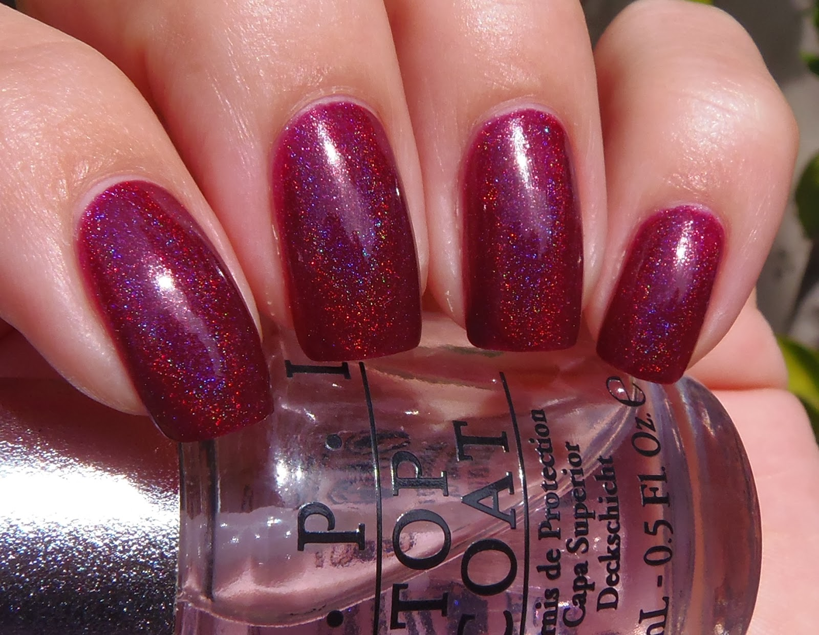 Opi Glitter Top Coat Nail Polish | Hession Hairdressing