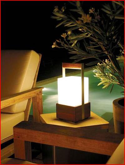 Lampade a batteria per esterni design casa creativa e for Mobili di design per esterni