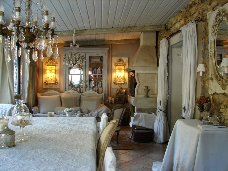 Ma maison au naturel le style shabby chic - Decoration chic et charme ...