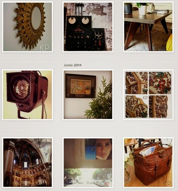 Instagram de interioristas vintage