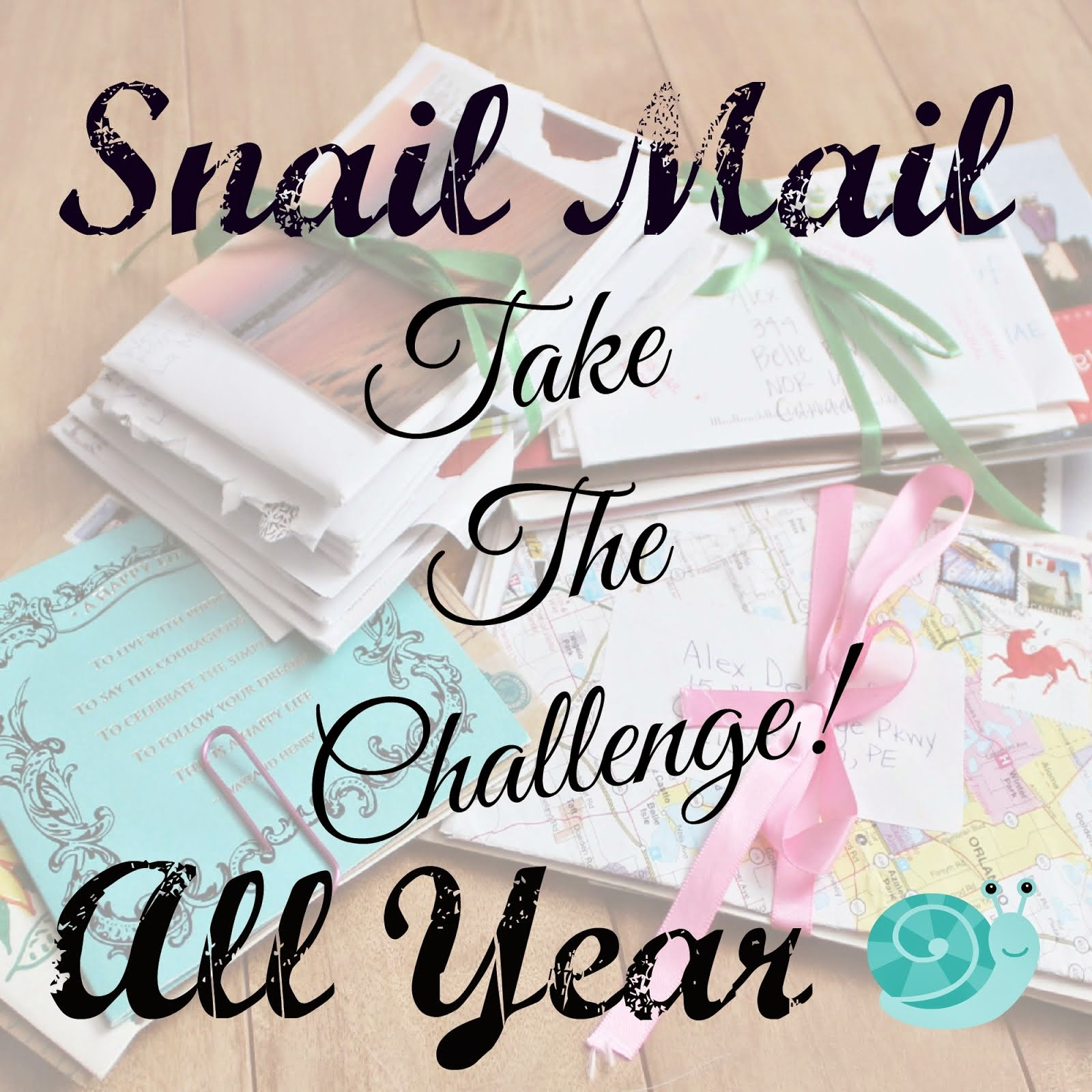 Snail Mail All Year Challenge