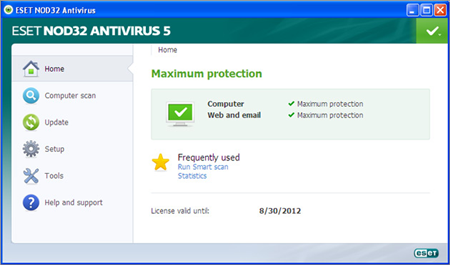 Antivirus Terbaik ESET NOD32