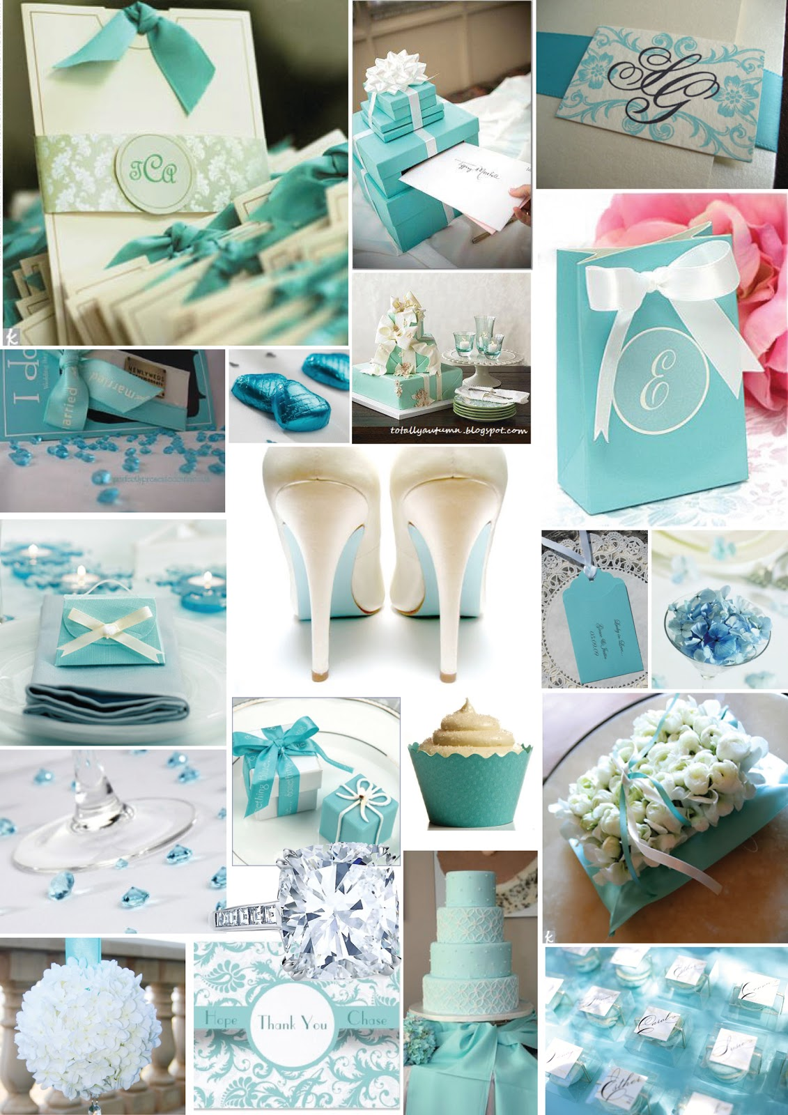 All things diy bride: Tiffany Blue Inspiration