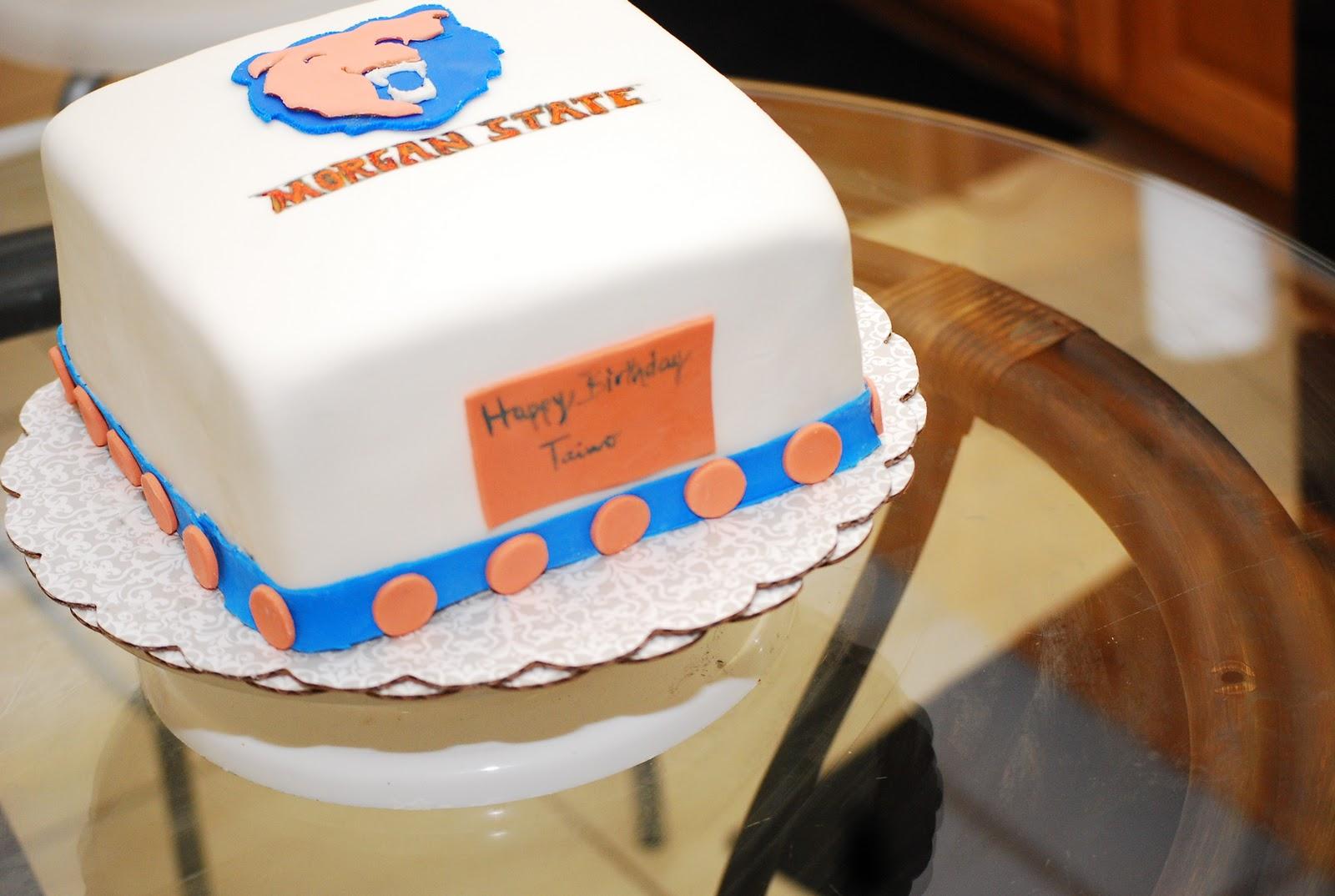 White Cake Guy Mascot