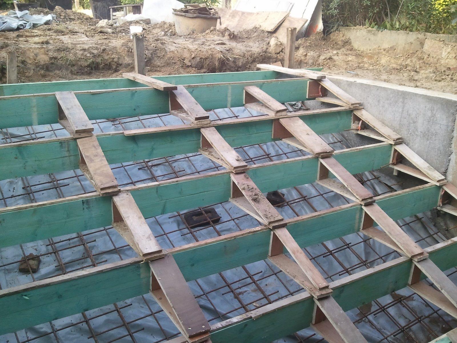 Ons huisje buitentrap - Bekleed beton ...