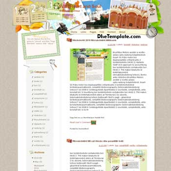 With Heart and Soul blogger template