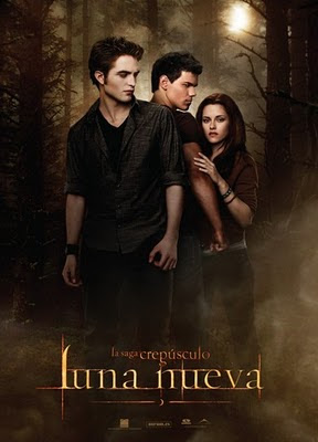 Crepúsculo  Luna nueva 2009 poster
