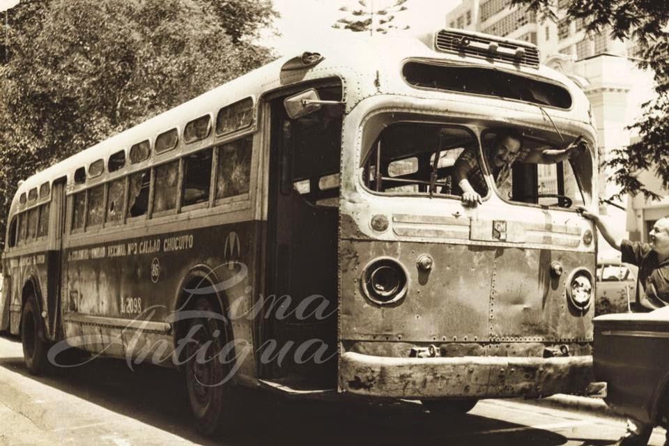 El transitar diario del viejo ómnibus