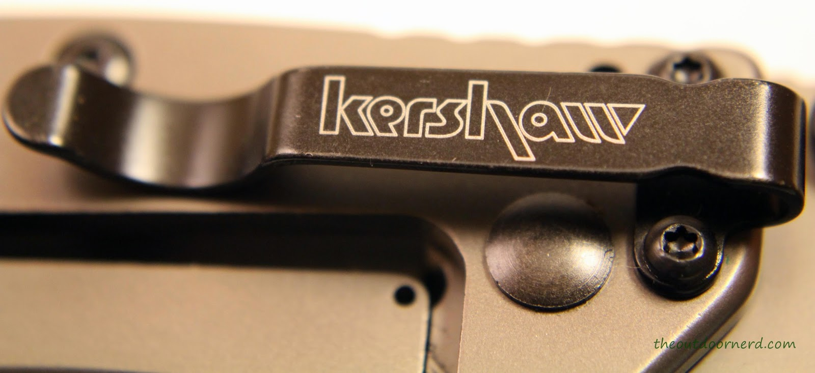 Kershaw Cryo EDC Pocket Knife: View Of Clip 1