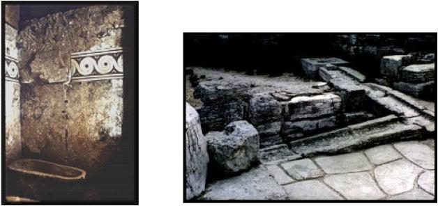 Baños Antiguos Barro:En Egipto antiguo los nobles contaban con baños y sanitarios en sus