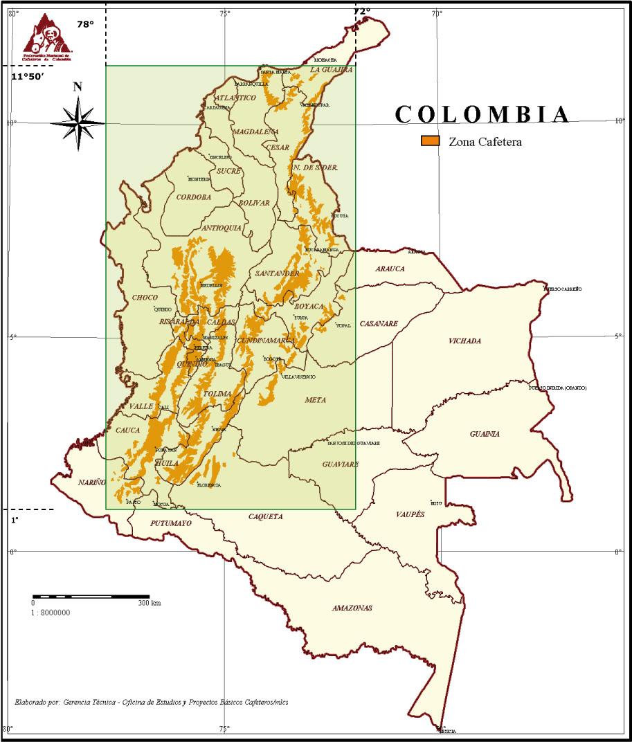 Comportamiento de la Industria Cafetera Colombiana 2014