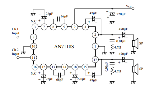 Looney1 furthermore R Audio Ic in addition Disappointment With Spice And Qrp Ers likewise 5 Watts Audio  lifier Circuit Diagram also Aplnx blogspot. on lm386 chip