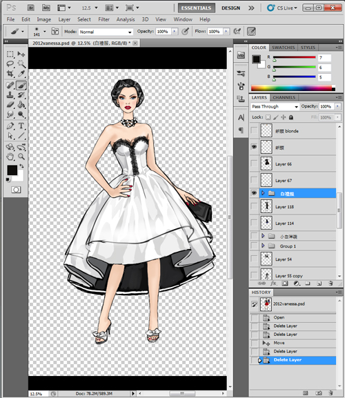 App for fashion design 60