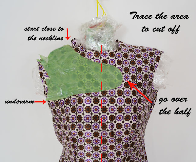 stella mccartney dress,dress diy,diy,fashion diy,how to,cut out dress,wavy hem,spring 2012