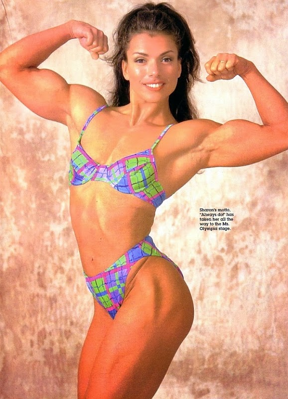 Bodybuilder and Fitness competitor - Sharon Bruneau