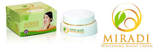 Jual Miradi Whitening Night Cream