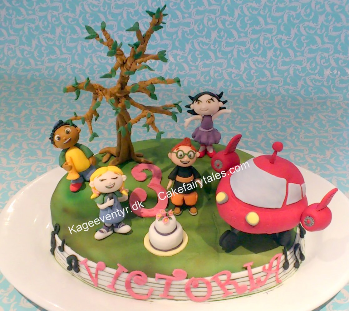 Cake Fairy Tales Meet Little Einsteins And Space Buns