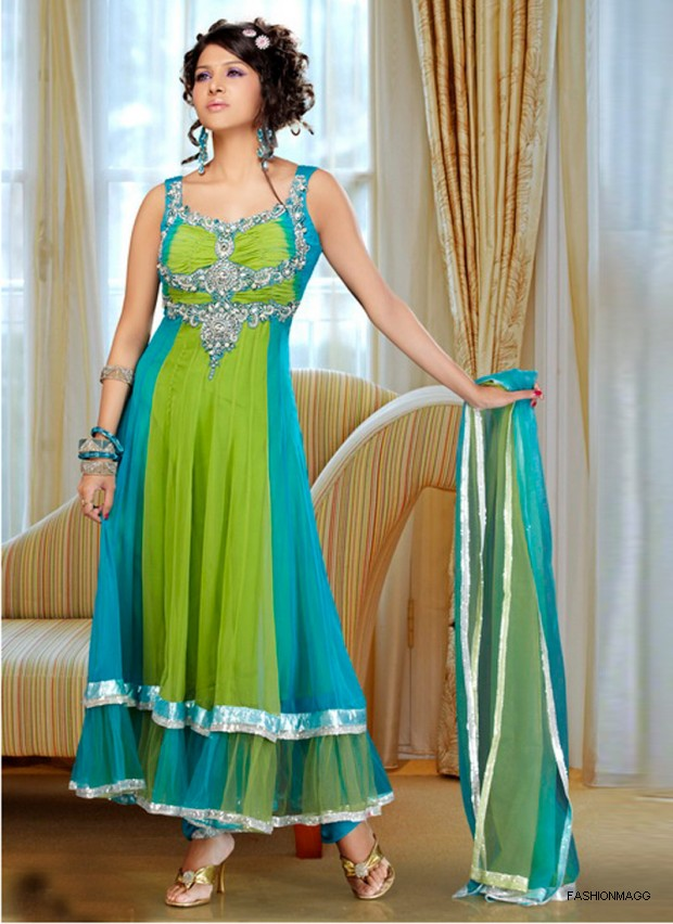 New Frock Designs in Pakistan http://fashmagg.blogspot.com/2012/10/anarkali-frocks-new-summer-spring.html